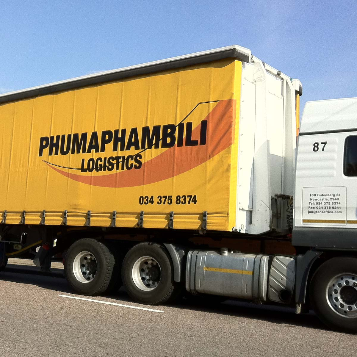 PVC-material-truck-sides-yellow